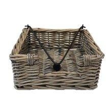 Antique Wash Napkin Holder Basket