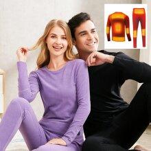 Winter Warm Heating Underwear Suit