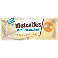 Metcalfe's White Chocolate Mini Rice Cakes - 16x16g