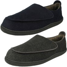 Mens Clarks Mule Slippers Relaxed Style - G Fit
