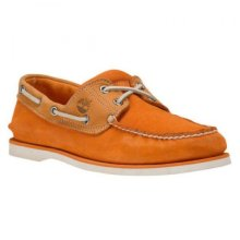 Timberland Classic 2 Eye Suede Nubuck Leather Mens Deck Boat Shoes