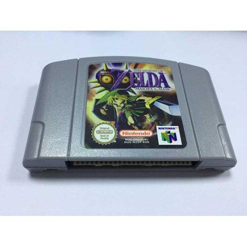 (ZELDA MAJORA'S MASK) THE LEGEND OF ZELDA MAJORA'S MASK N64 Video Game Cartridge for Nintendo N64 Console EUR Version