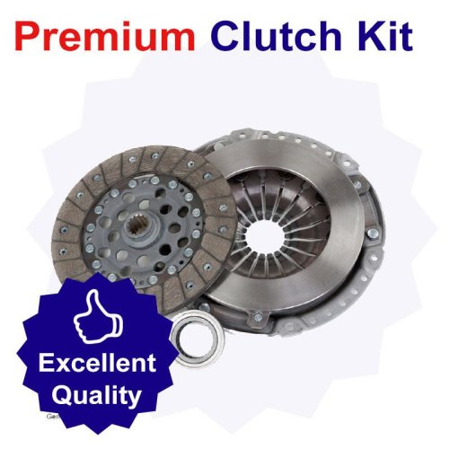 Premium Clutch Kit for Volkswagen Caddy 1.9 Litre Diesel (10/98-03/04)
