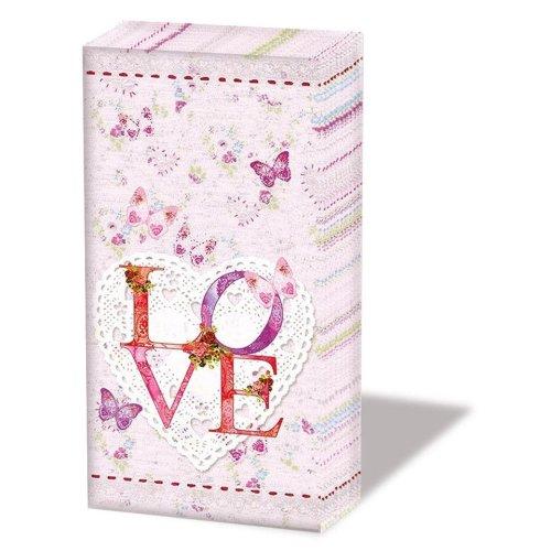Lovely - Novelty Paper Tissues Handbag / Pocket Sized