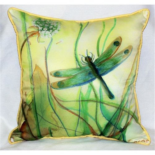 """Betsy's Dragonfly Art Only Pillow 15""""x22"""""""
