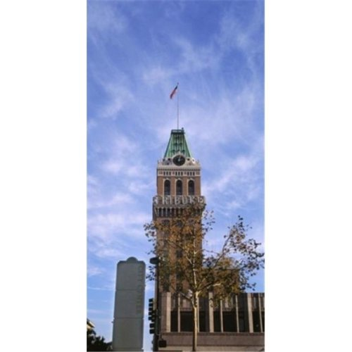 Low angle view of an office building  Tribune Tower  Oakland  Alameda County  California  USA Poster Print by  - 12 x 36