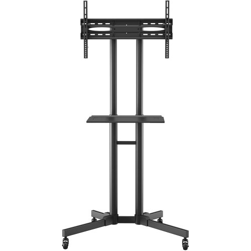 """Moile TV Stand for 32""""-65"""" LCD LED OLED Plasma Screen Height Adjustable Tall"""
