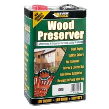 Everbuild Wood Preserver Clear 1 Litre