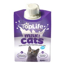 Toplife Formula Cat Milk 200ml (Pack of 18)