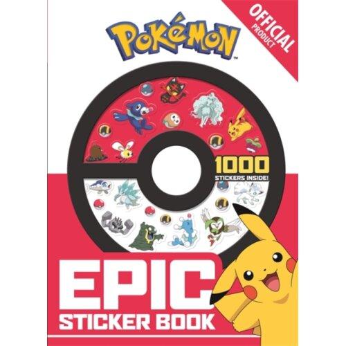 Official Pokemon Epic Sticker Book by Pokemon