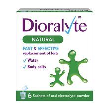 Dioralyte Natural Electrolyte Powder - Pack of 6 sachet