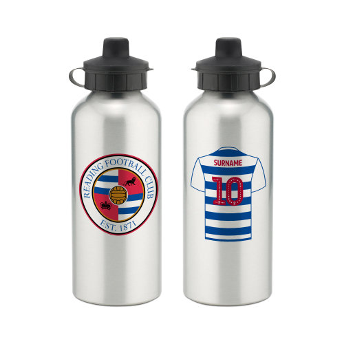 Official Personalised Reading FC Aluminium Water Bottle