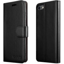For iPhone SE 2020 Phone Wallet Book Leather Case