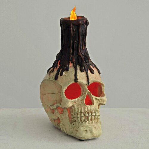 LED Skull Head Halloween Party Decoration