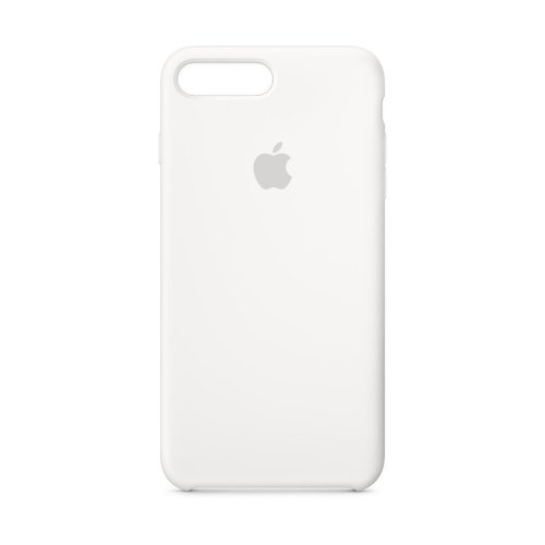 Apple Silicone Case for iPhone 8 Plus - White