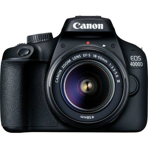 Canon EOS 4000D DSLR Camera & EF-S 18-55MM Lens
