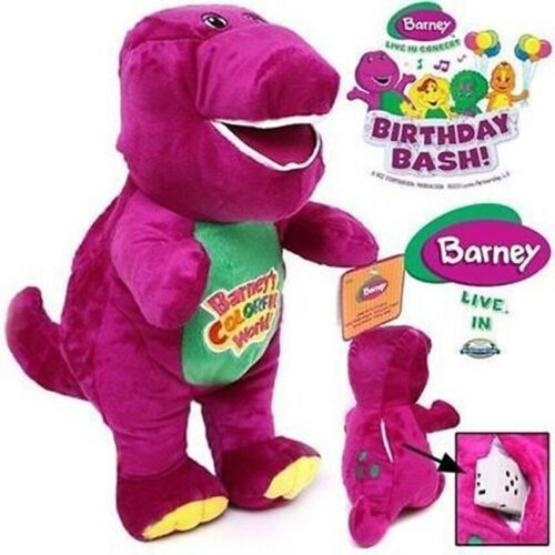 """12"""" Barney and Friends Singing Plush Doll Toy Gift"""