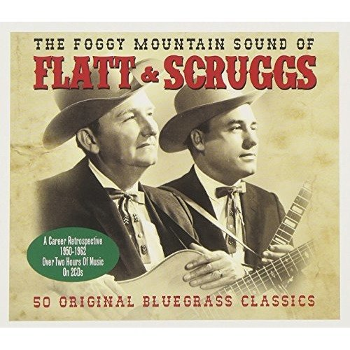 The Foggy Mountain Sound of Flatt and Scruggs Double Cd Audio Cd Flatt and Sc...