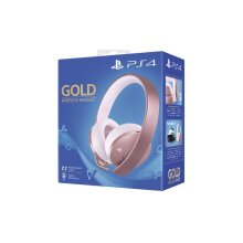 Sony Gold Wireless PS4 Headset - Rose Gold