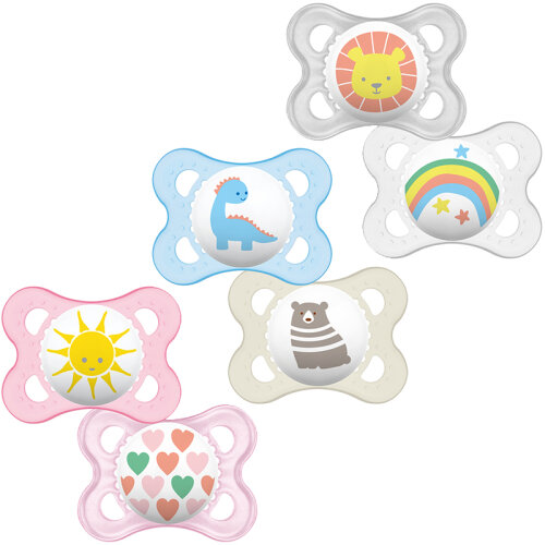 MAM Original Soother, 0m+, Pack of 3 Soothers