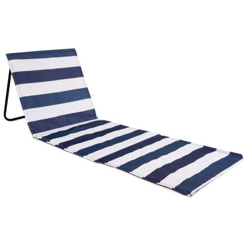 (Striped) just be... Beach Mat Recliner