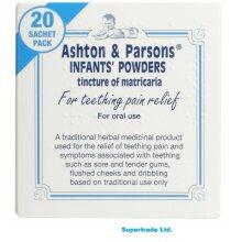 2 X Ashton And Parsons Teething Pain Relief Powders 20 Sachets Ashton & Parsons
