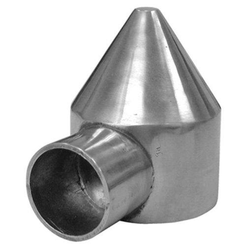 328568C 2.38 in. 1 Way Aluminum Chain Link Bullet Cap