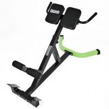 Back HYPER EXTENSION BENCH Adjustable Core Strength Muscle Gym Rack