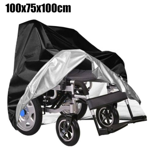 Water Dust-proof Wheelchair Storage Cover Electric Manual Folding Wheelchairs