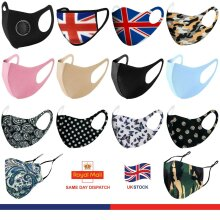 Reusable Face Masks Washable Breathable Face Protection