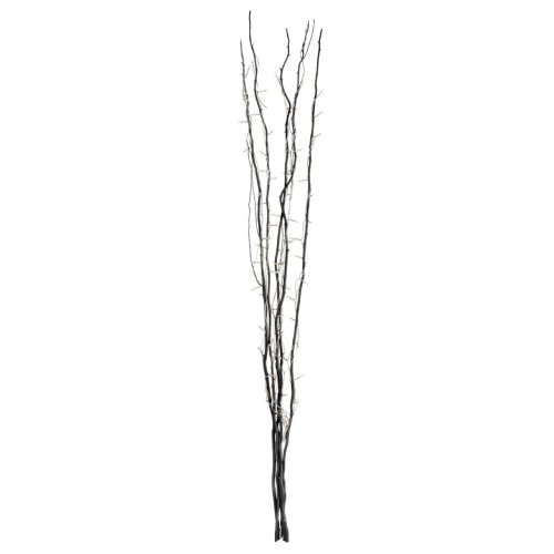 Decorative Black Twigs 80 Interwoven Lights