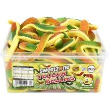 SweetZone Yellow Bellies (30) pieces 900g