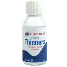 Humbrol Enamel Thinners 125ml Bottle