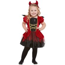 Toddlers Halloween Devil Fancy Dress Costume Age 1-2