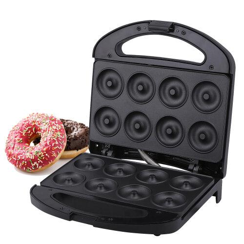 Geepas 750W Doughnut Maker Machine, 8 Hole  - Snack Maker Machine