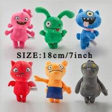 6Pcs Ugly Dolls Large Plush Toys