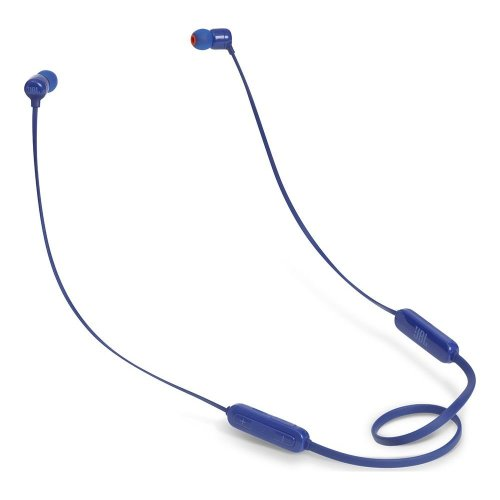 JBL T110BT Wireless Bluetooth Headphones - Blue, Blue