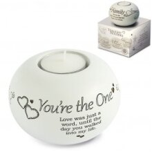 Tealight Holder - You're The One