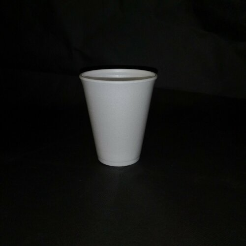 10oz WHITE FOAM HOT TEA DISPOSABLE CUP GLASS PARTY CUPS