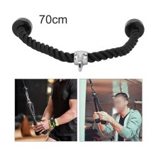 Lat Bicep Tricep Ropes Pull Down Rope Cable Attachment Handle Gym