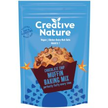 Creative Nature Chocolate Chip Muffin Baking Mix - 6x250g