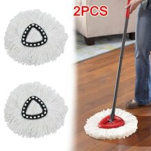 2pcs Easy Wring Clean Turbo Microfibre Replacement Refill Mop Head