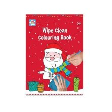 Christmas Wipe Clean Colouring Book A4