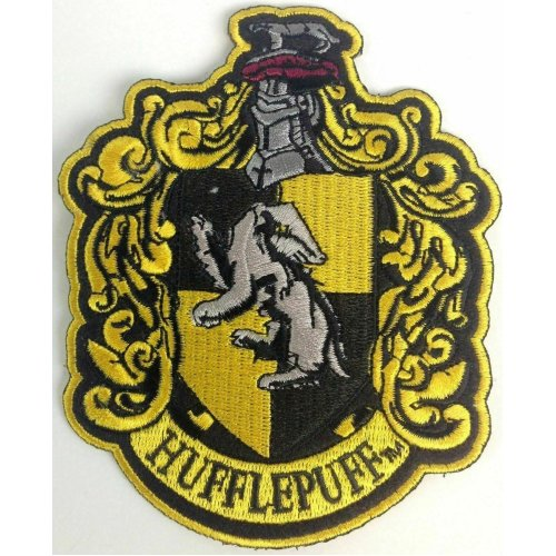 Harry Potter Hufflepuff Iron on patch