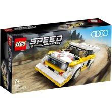 Lego 76897 Lego Speed Champions 1985 Audi Quattro S1 Construction Playset