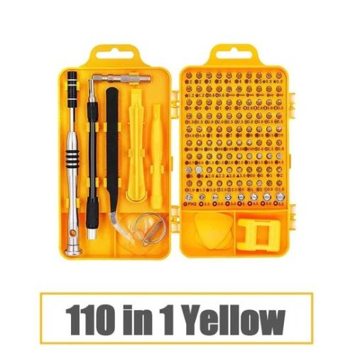 (112-YELLOW) Torx Screwdriver Set Multifunction ScrewDriver Set