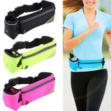 Sport Belt Waist Pack Pouch Water Bottle Holder Bag Running Hiking