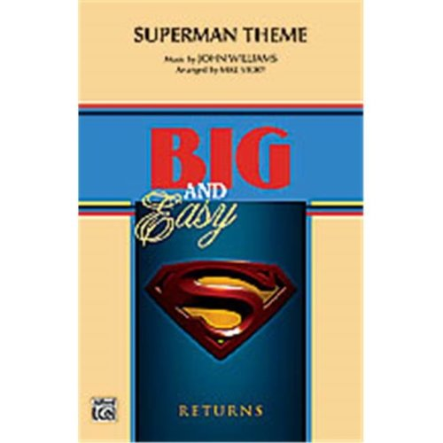 Alfred 00-26956 SUPERMAN THEME-B&E