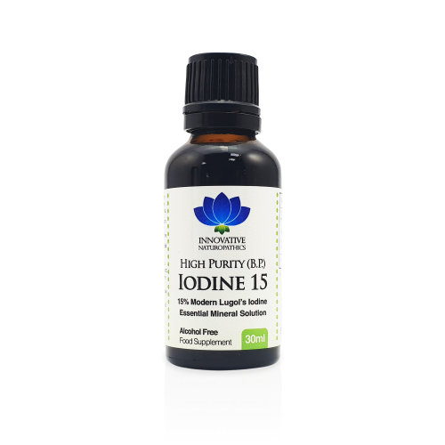 Iodine - 3% Lugols Iodine Solution - 30ml