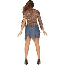 Adults Womens Halloween Zombie Suit Fancy Dress Costume 10 to 12